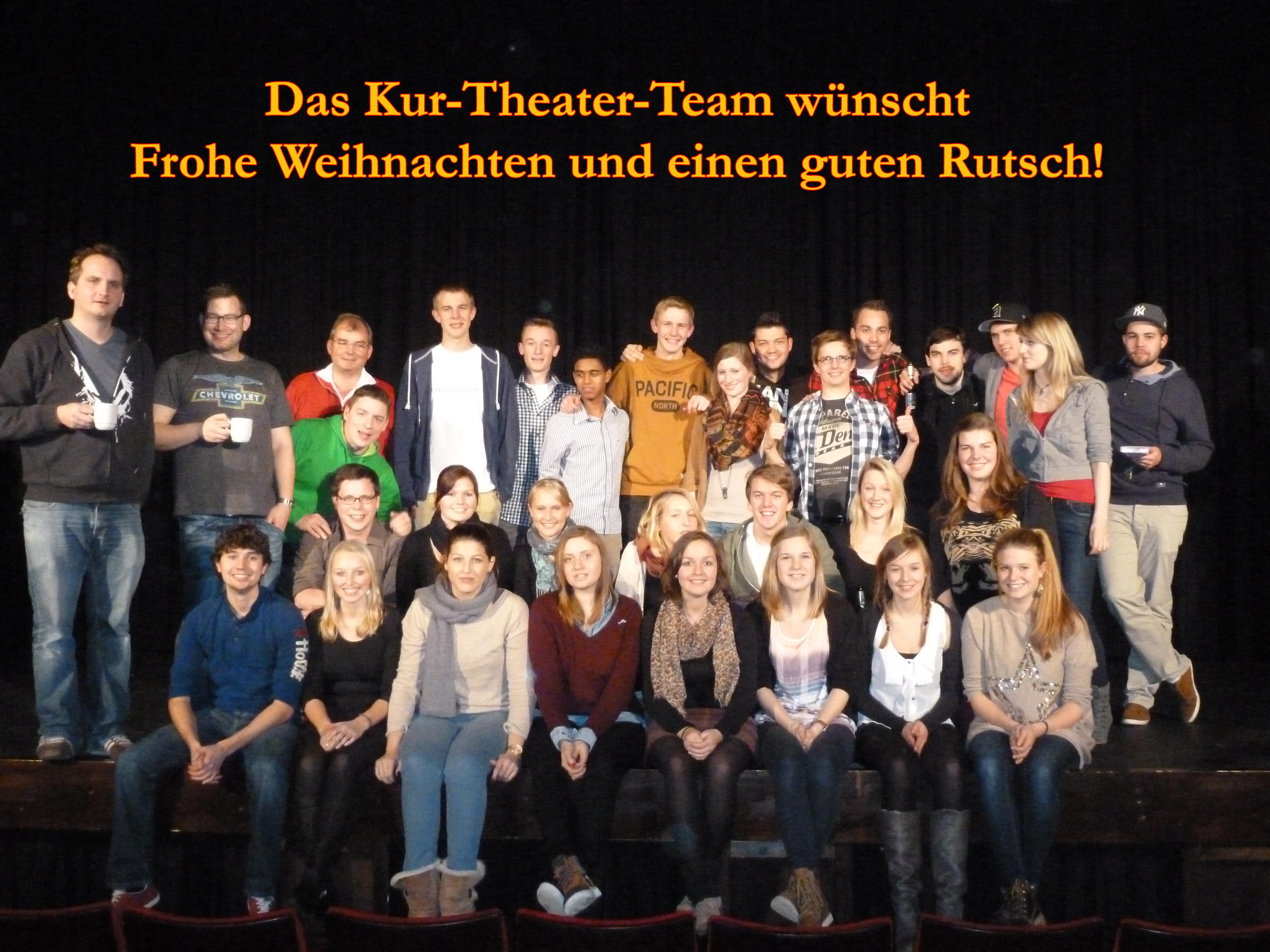 Kur-Theater Hennef e.V.: Das Kur-Theater Team wünscht ein Frohes ...